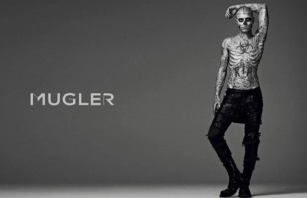 Рик Дженест в кампании Mugler . Изображение № 3.
