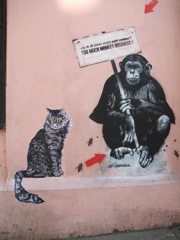 Граффити от легенды стрит-арта Jef Aerosol. Изображение № 8.