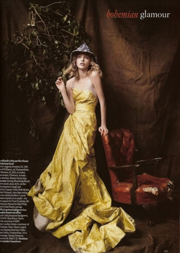 Изображение 2. «Sasha», британский Vogue, декабрь 2007.. Изображение № 2.