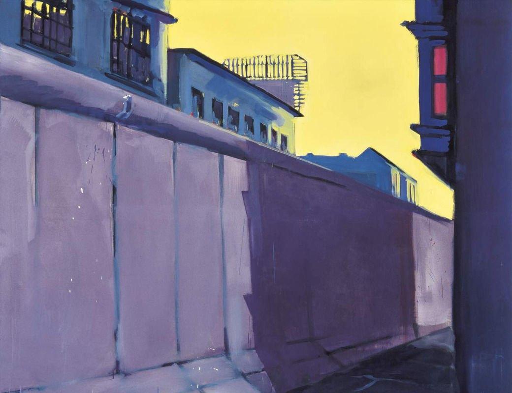 Берлин,фрагмент картины, Райнер Феттинг, 1978. Изображение № 12.