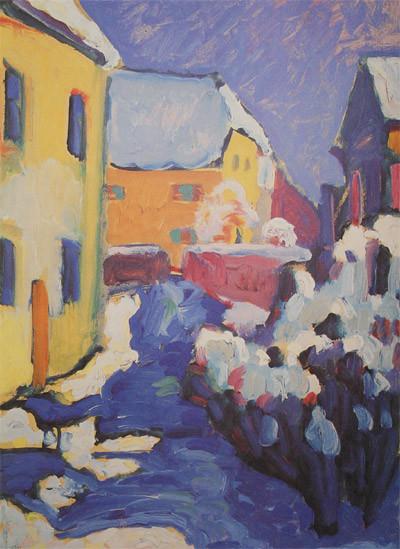 Коллекция работ В.В. Кандинского. Изображение № 13.