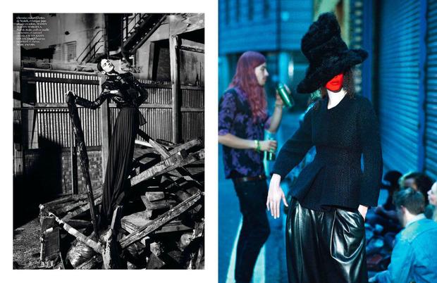 Новые съемки Dazed & Confused, Vogue, i-D и W Magazine. Изображение № 4.