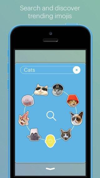Приложение Imoji превратит ваши селфи в стикеры. Изображение № 1.