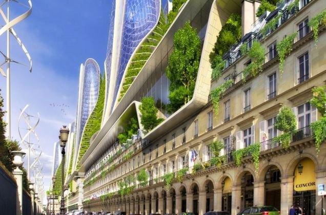 Концепт: экологически безопасный Париж. Изображение № 5.