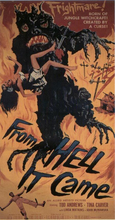 Старые постеры фильмов ужасов!. Изображение № 7.