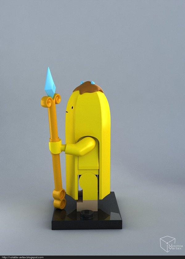Концепт: персонажи Adventure Time в LEGO. Изображение № 14.