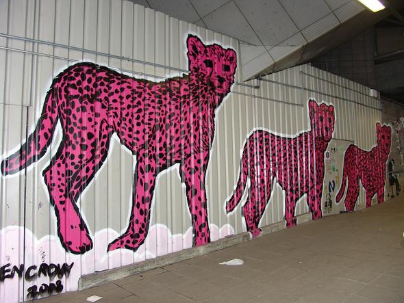 Стрит-арт в Лондоне. Изображение № 14.