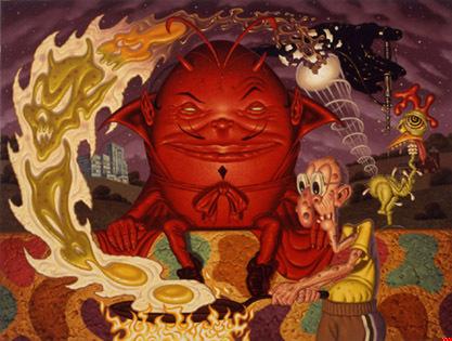 Эйсид-поп сюрреализм Тодда Шорра. Изображение № 6.