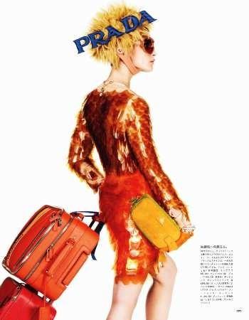 Съёмка: Кристал Ренн для Vogue. Изображение № 7.