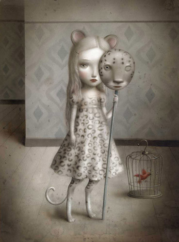 Nicoletta Cecolli [не]детские иллюстрации изИталии. Изображение № 11.