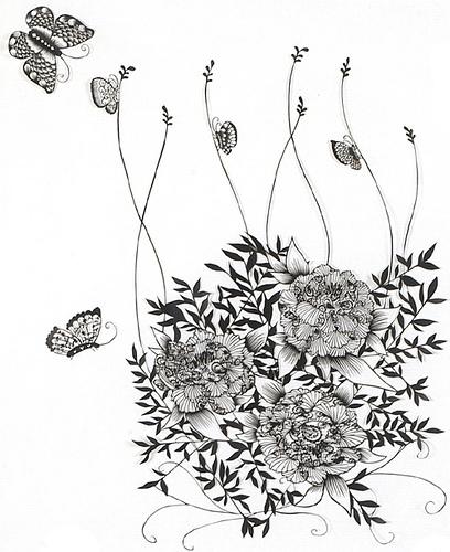 Вырезанные избумаги картины – Hina Aoyama. Изображение № 19.