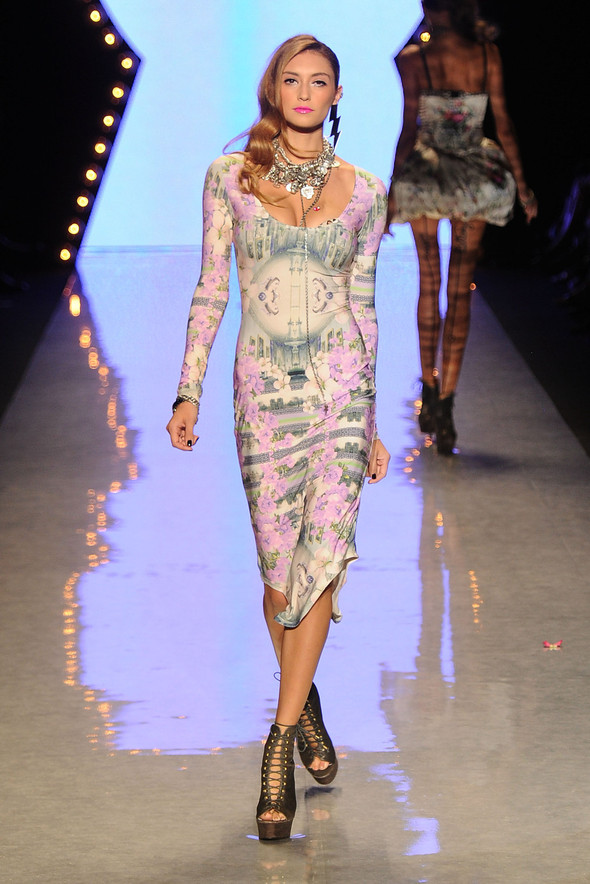 New York Fashion Week: Betsey Johnson Spring 2012. Изображение № 27.