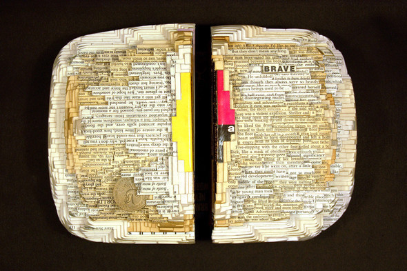 Book carving отБрайана Деттмера [Brian Dettmer]. Изображение № 7.