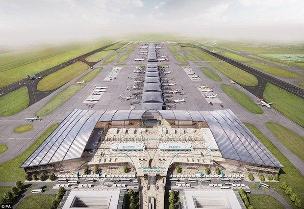 Архитектура дня: новый терминал аэропорта Гатвик под Лондоном. Изображение № 2.