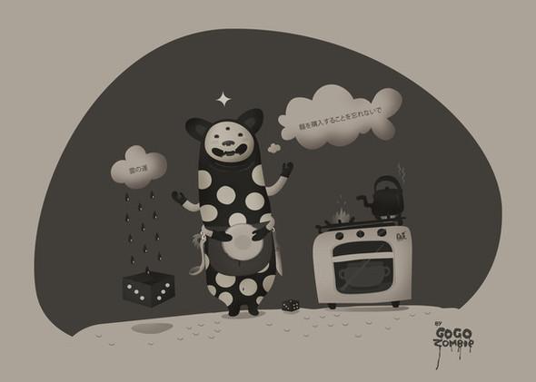 Гоу Гоу Зомби! - Иллюстратор из Санкт-Петербурга. Изображение № 23.
