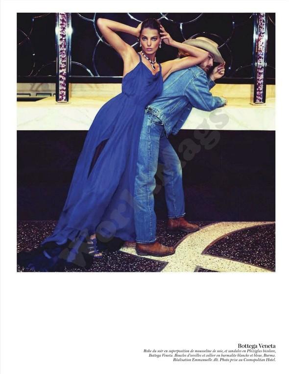 Съёмка: Дарья Вербова для французского Vogue. Изображение № 46.