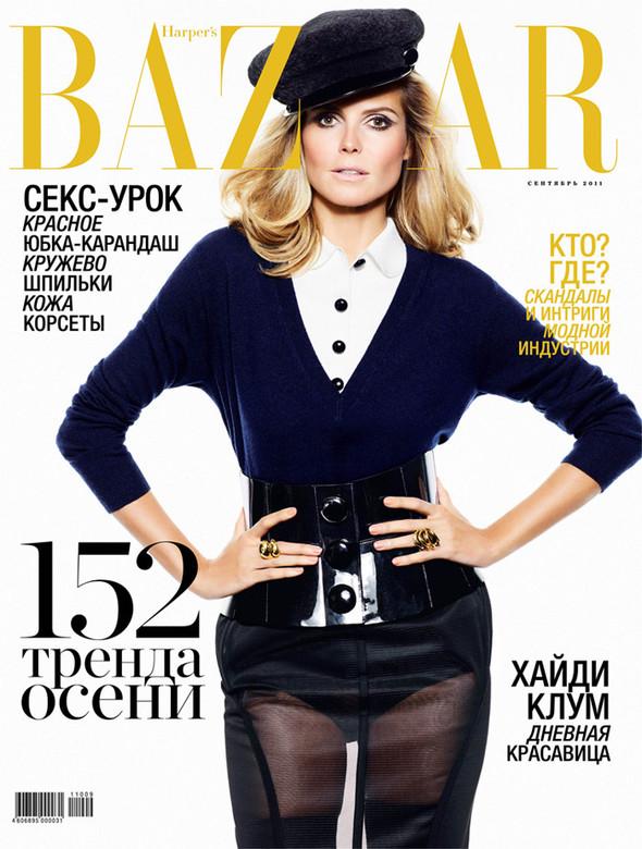 Обложки: Harper's Bazaar, Interview, New York Magazine и другие. Изображение № 1.