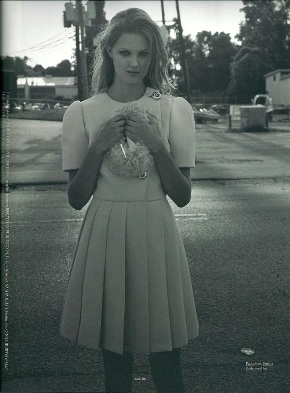 Съёмка: Линдси Уикссон для Oyster. Изображение № 17.