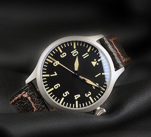 Steinhart Nav.B-Uhr vintage TITANIUM. 420 EUR (19% VAT incl.). Изображение № 33.