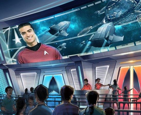 Опубликованы концепты парка развлечений по «Звёздному пути». Изображение № 5.