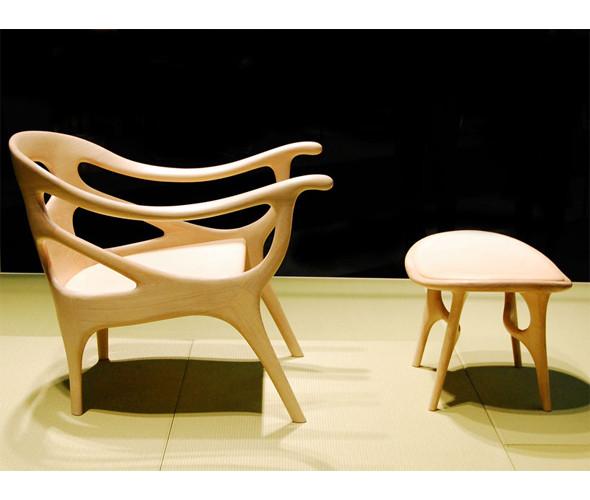 «K-chair» и «K-plus» - сочетание современной формы и ручной работы от голландского дизайнера Хелле Дамкьяер. Изображение № 3.
