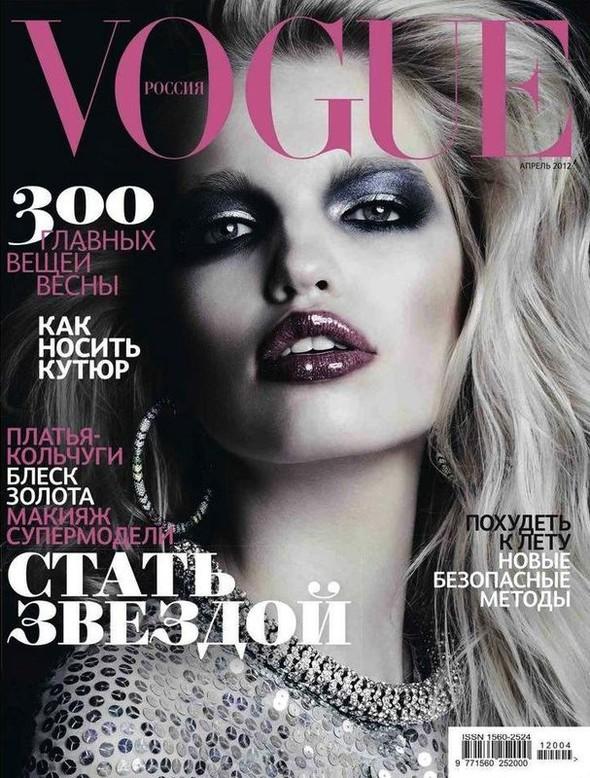 Обложки за апрель: Vogue, Harper's Bazaar, Numéro и др. Изображение № 2.