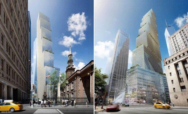 Представлен проект третьей повысоте башни Манхэттена. Изображение № 9.