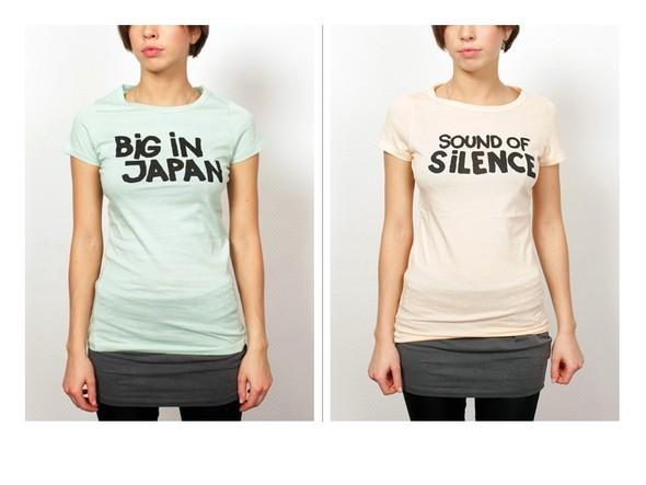 Музыкальные футболки от Ganni. Изображение № 6.