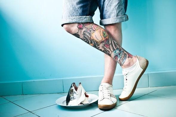 Самые аппетитные татуировки в Москве. Изображение № 9.