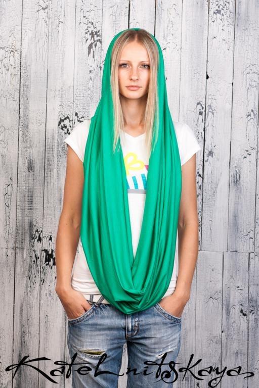 Осенняя коллекция ярких шарфов-снудов. Изображение № 20.