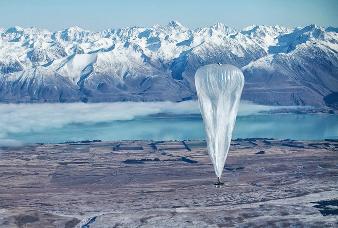 На испытаниях воздушного шара Loon. Изображение № 1.