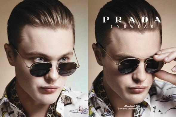Кампания: Майкл Питт для Prada. Изображение № 12.