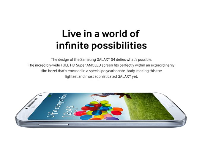 Samsung представил смартфон Galaxy S 4. Изображение № 2.