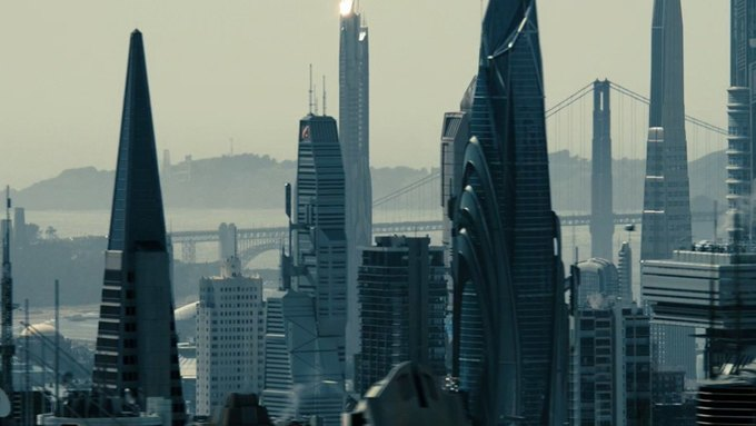 Дизайнеры показали процесс создания городов из «Стартрека». Изображение № 5.