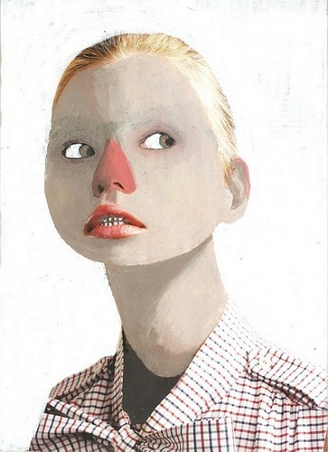 Абсурдные и привлекательные портреты Хуима Тио. Изображение № 6.
