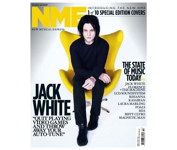 Новый дизайн и десять обложек NME. Изображение № 3.