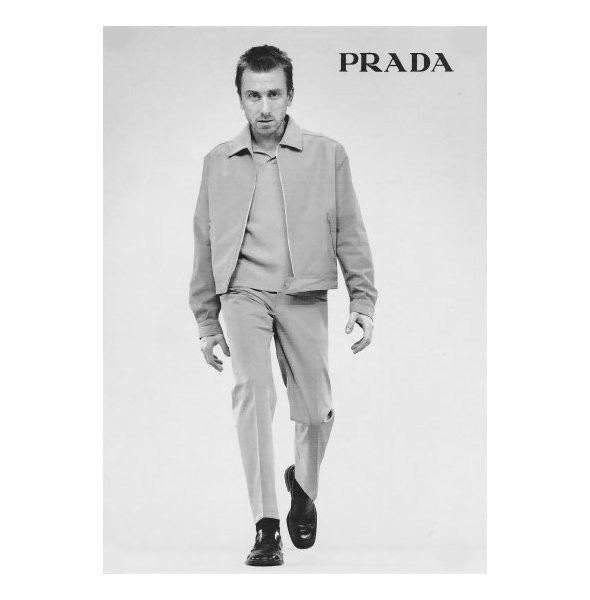 Архивная съёмка: Тим Рот для кампании Prada SS 1996. Изображение № 10.