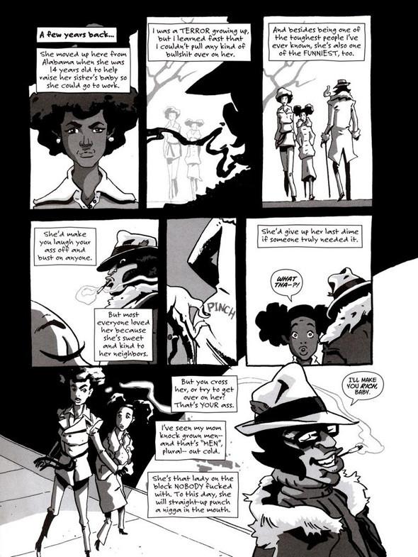 Комиксы легенды хип-хопа. Изображение № 11.