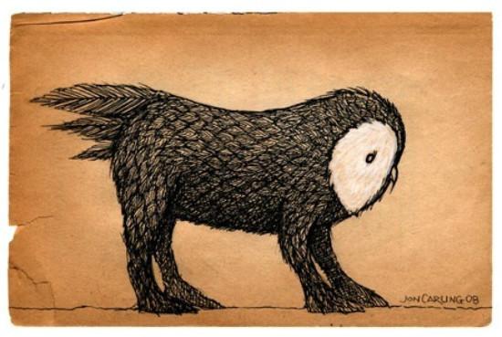 Jon Carling – мистерии в гелевой ручке. Изображение № 22.