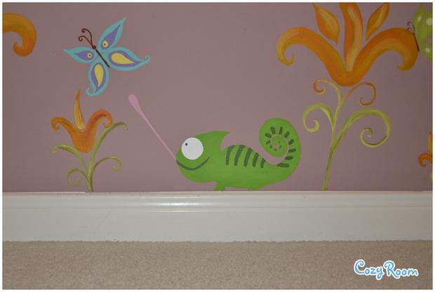 Детская комната по мотивам мультфильма «Рапунцель. Запутанная история». Изображение № 2.