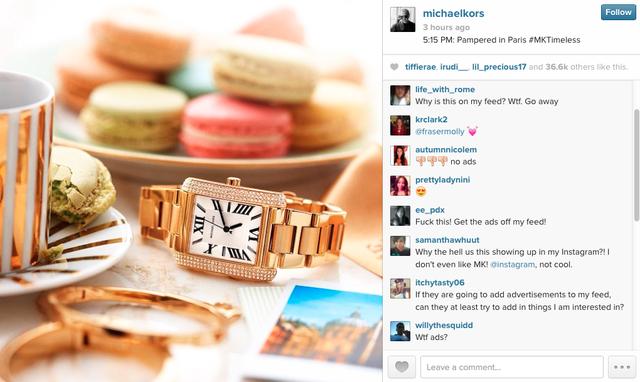 Обнародованы результаты первой рекламной кампании в Instagram. Изображение № 1.