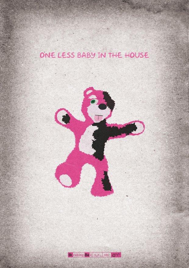 Дизайнер создал постеры всех серий «Во все тяжкие». Изображение № 7.