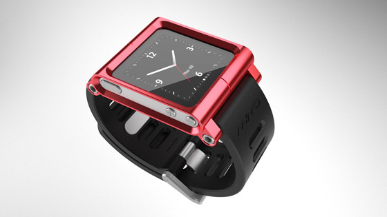 Элегантное превращение iPod nano в эффектные наручные часы. Изображение № 10.