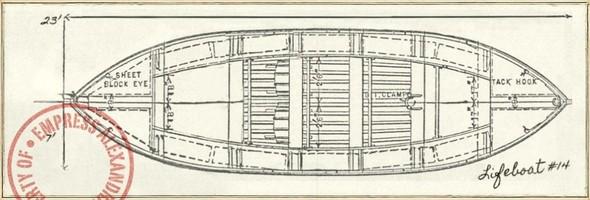"""По следам Титаника. Книга """"Шлюпка"""" Шарлотты Роган. Изображение № 4."""
