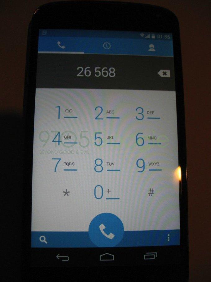 В Сети появились первые изображения нового Android. Изображение № 2.
