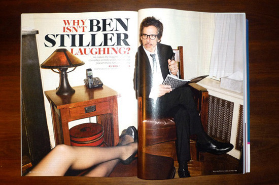 Ben Stiller vs Terry Richardson. Изображение № 5.