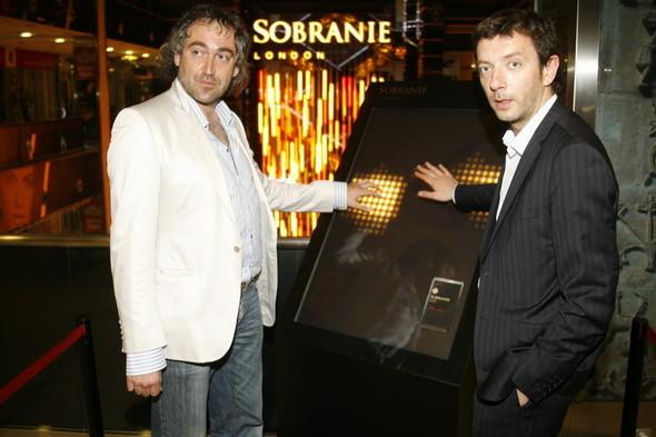 SOBRANIE LIGHT SYMPHONY интерактивная световая инсталля. Изображение № 10.