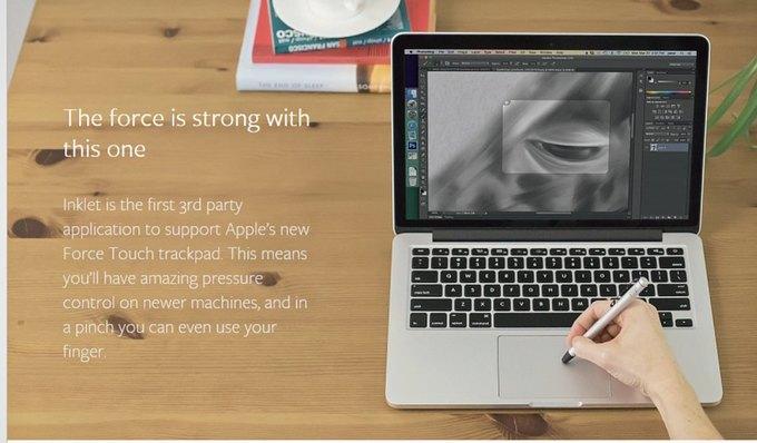Появилось приложение для рисования на тачпаде MacBook. Изображение № 1.