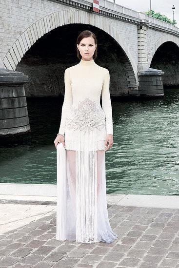 Изображение 6. Показана новая кутюрная коллекция Givenchy.. Изображение № 17.