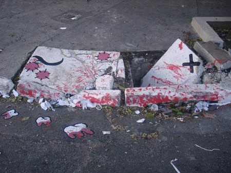 Уличные художники Сан-Пауло делают город веселее. Изображение № 12.